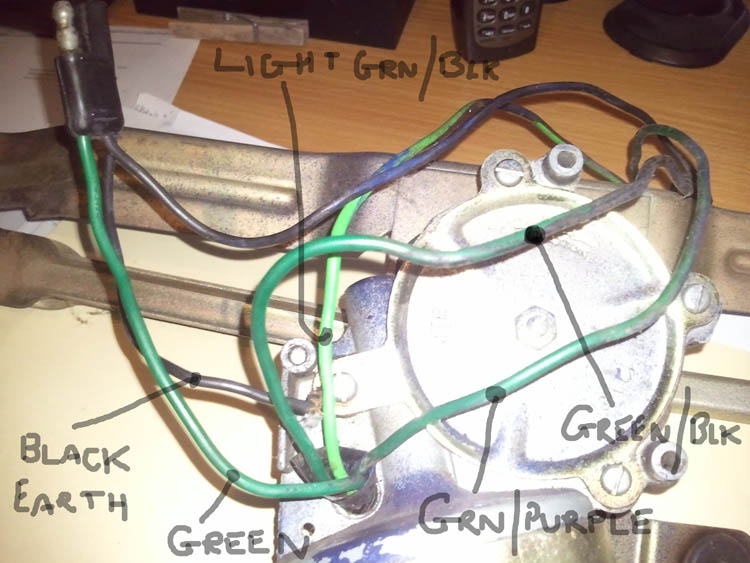 Help Wanted  Mk1 Escort Wiper Motor Wires