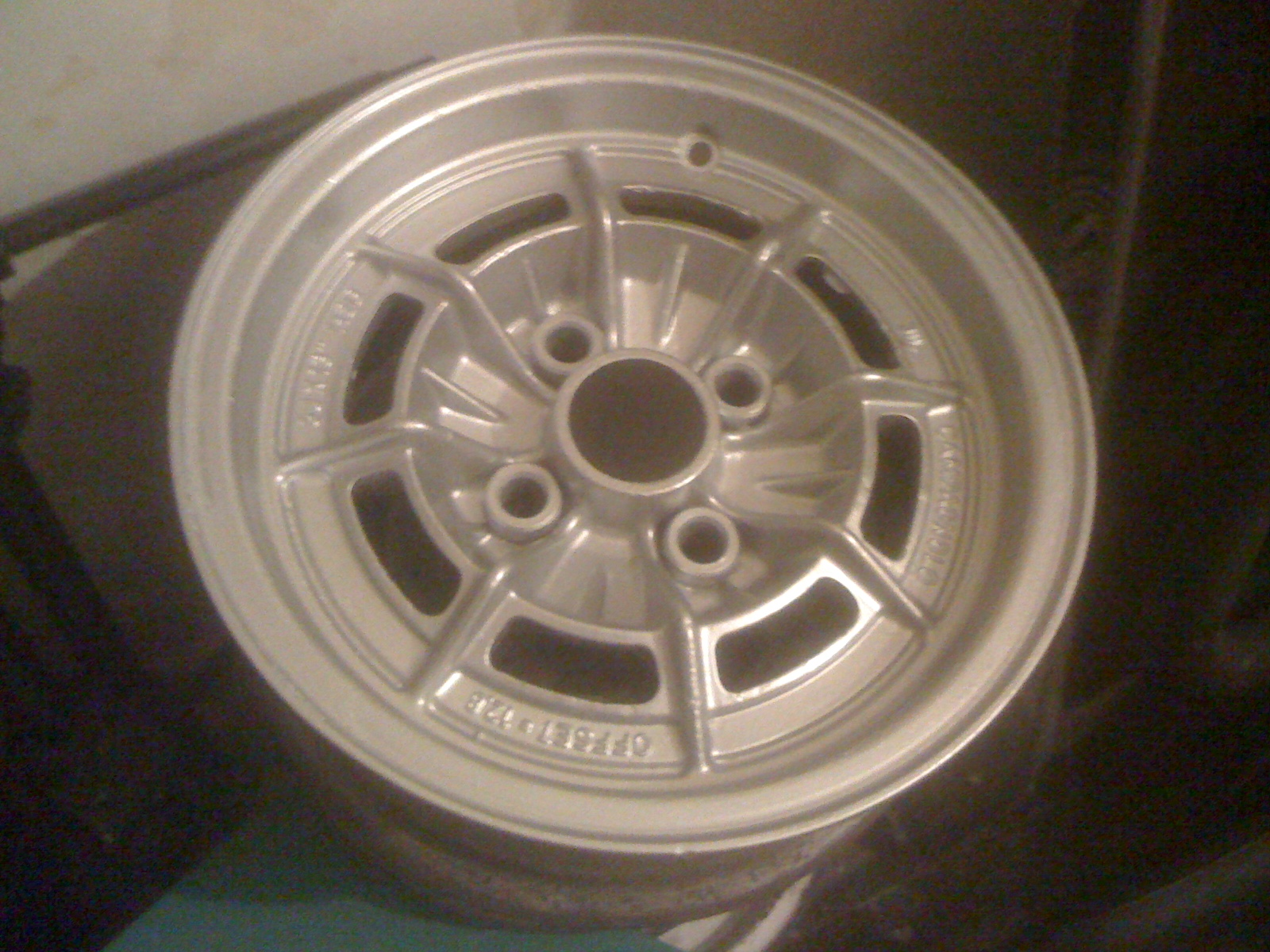 Campagnolo Magnesium Wheels Grp4 Inserts