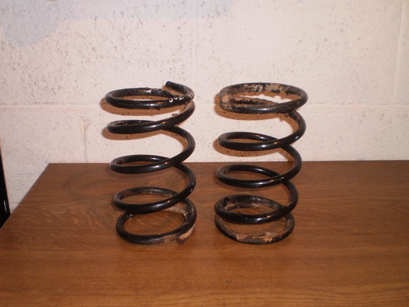 """Capri 2.8i 190 lb springs less 2/"""""""