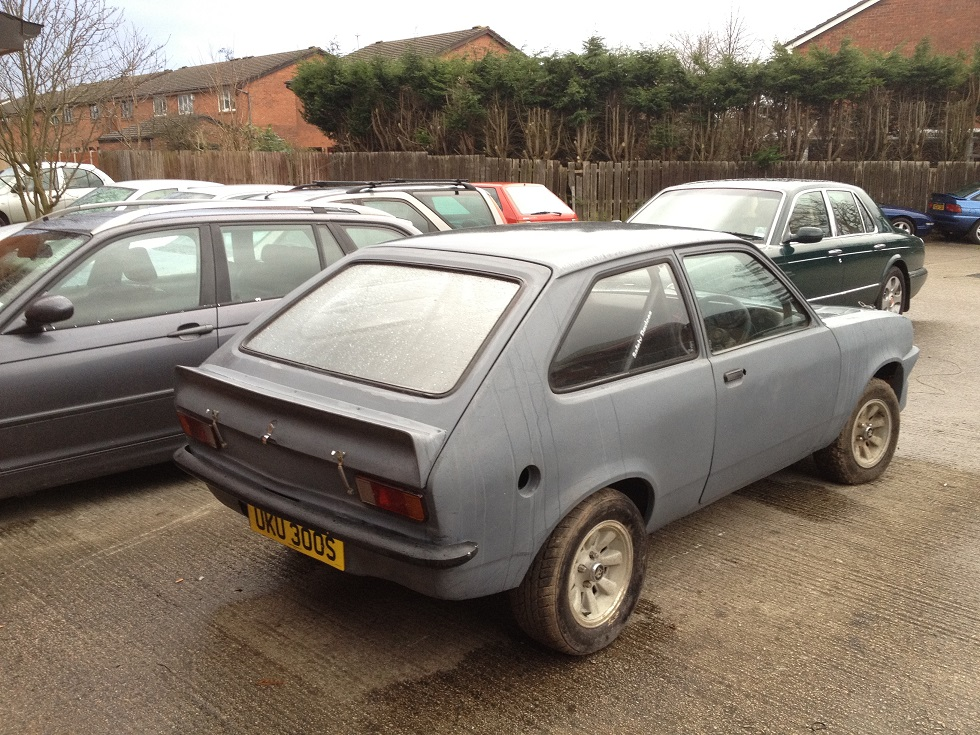my own chevette hs/hsr rally project